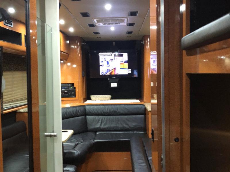 interior bus view